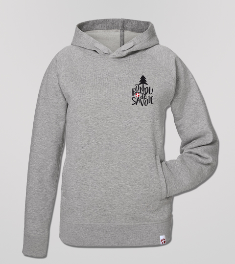 Sweat Shirt Heather Grey Fondu De Savoie