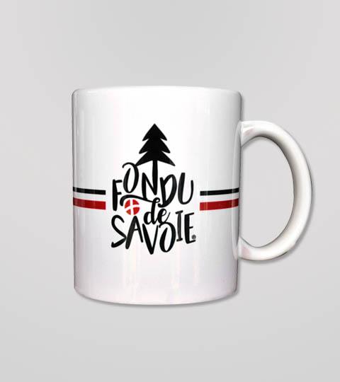 Mug Fondu De Savoie