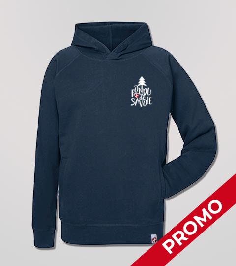 Sweat Shirt Navy Fondu De Savoie