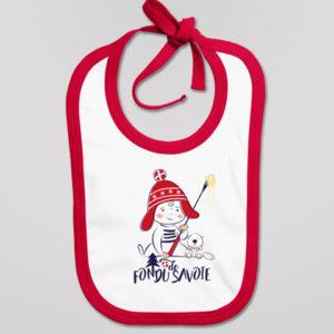 Bavoir Bébé Fondu De Savoie