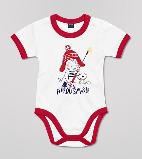 Body Bébé Fondu De Savoie